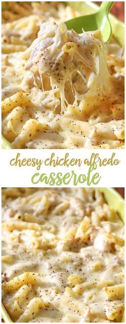 Cheesy Chicken Alfredo Casserole recipe