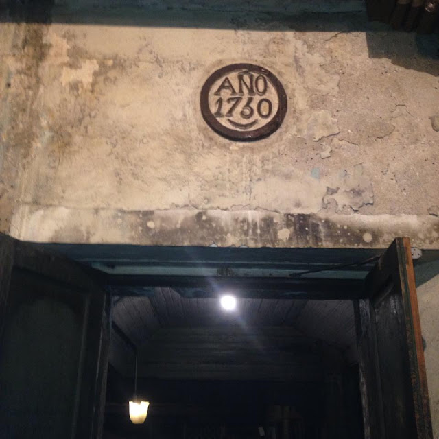 1730 Etched on the walls of Museo Parian sa Sugbo