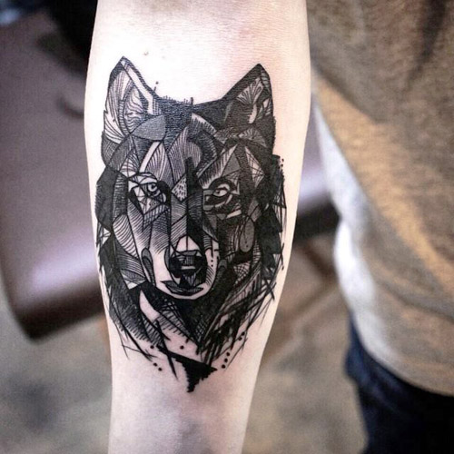 Tatuajes De Familia De 4 Lobos