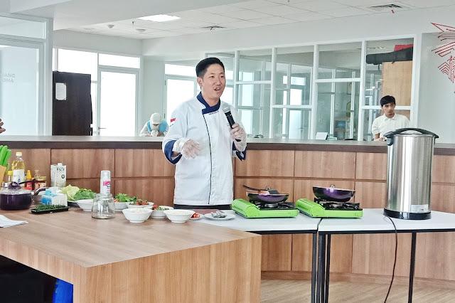 demo masak menu makanan sehat