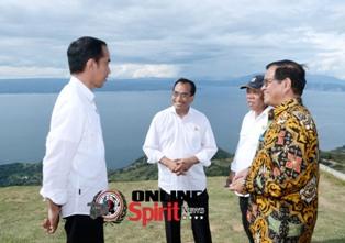 Presiden RI,Perlu Ada Fasilitas Penunjang di Danau Toba