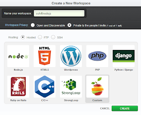 Exit5 Ventures Using Cloud9 Ide With Node Js On Red Hat Openshift