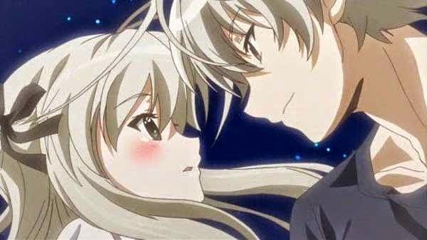 Yosuga no sora - List anime harem ecchi school PJM