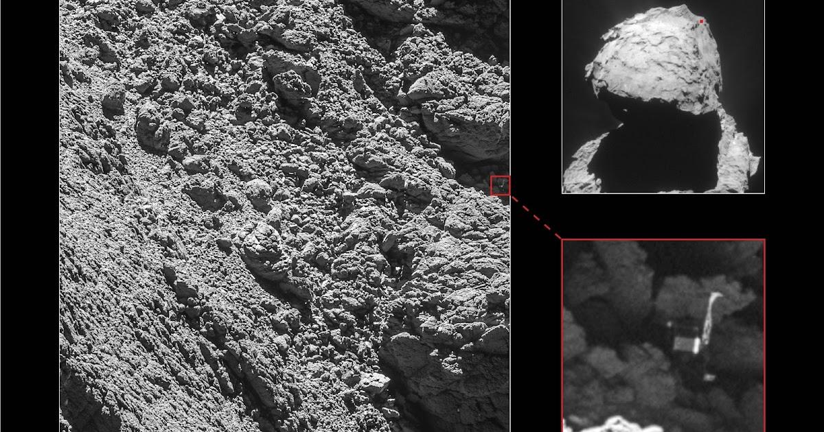Rosetta, finalmente trovato il lander Philae! Stupende immagini, by ESA OSIRIS!