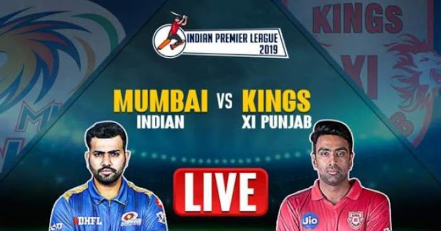 VIVO IPL 2019 Match 9 KXIP vs MI Live Score and Full Scorecard