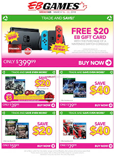 EB Games Flyer Weekly Valid Fri Mar 16 – Thu Mar 22