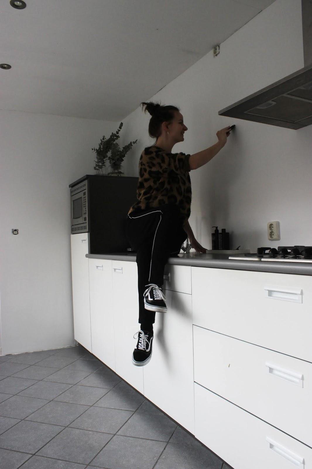 Flexa Industrial Grey.Huisjeaandehaven Flexa Creations Industrial Grey In De Keuken
