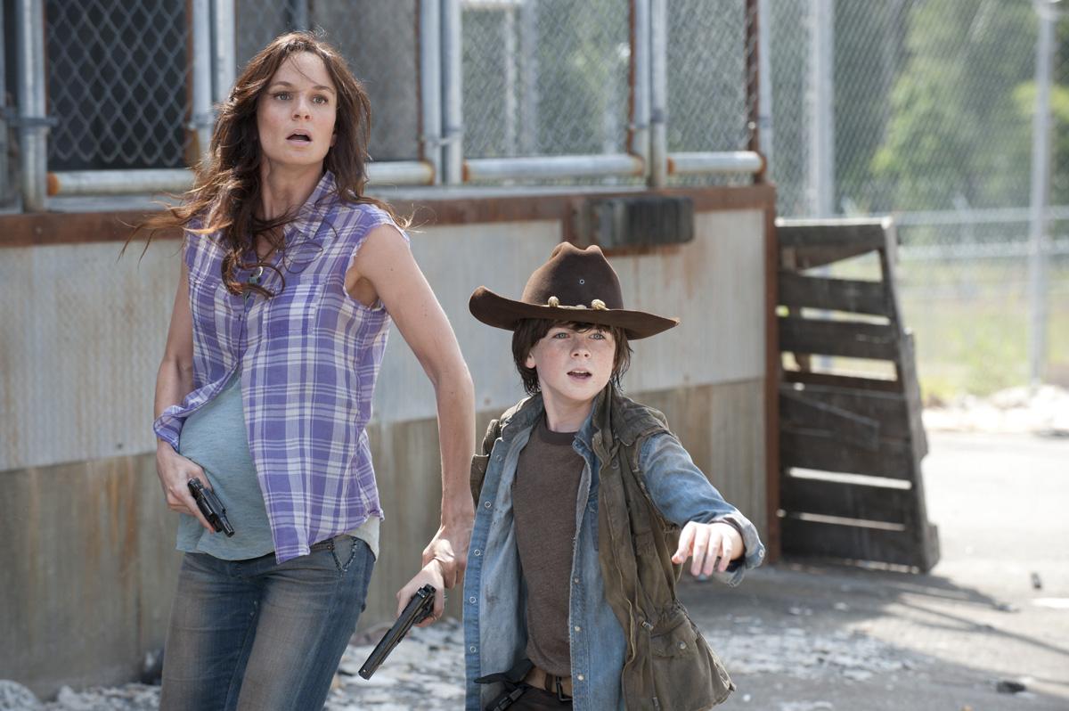 The Walking Dead Lori Tot