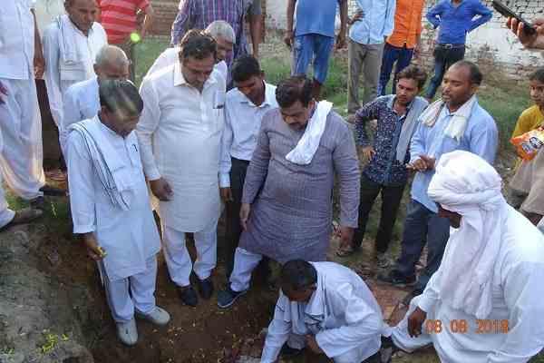 prithla-mla-tekchand-sharma-started-village-dundasa-aterna-village-development