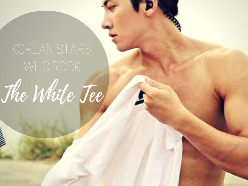 Sweet Aesthetic 5 Korean Idols Who Rock The White Tee