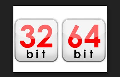 Perbedaan Windows 32 bit dan 64 bit Pada Windows 7, 8, 8.1
