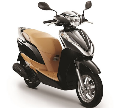 2016 Honda Lead 125 cc Scooter black color Hd Photos