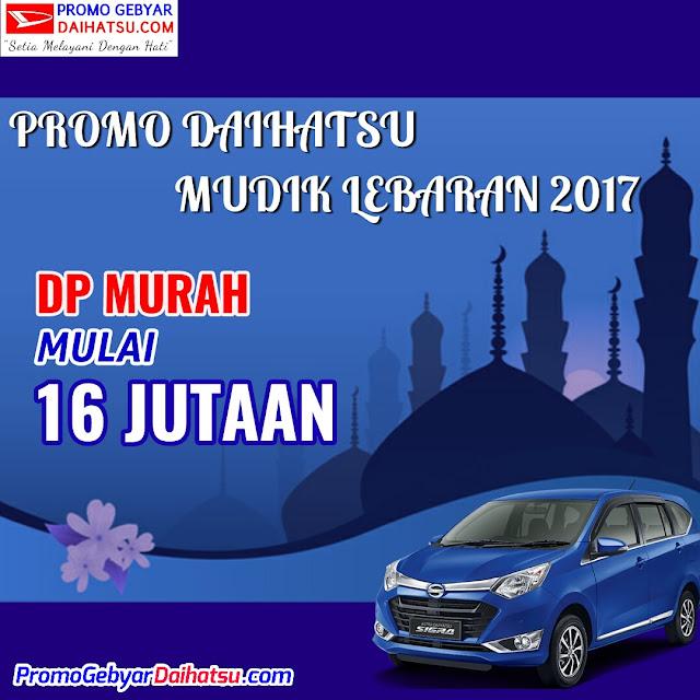 Promo Paket Kredit Daihatsu Sigra Dp Murah juni 2017