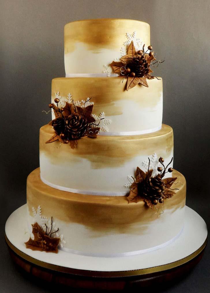 Wedding Cake Topper 56 Simple Christmas Wedding Cake Topper