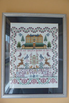 Cross stitch sampler DMC
