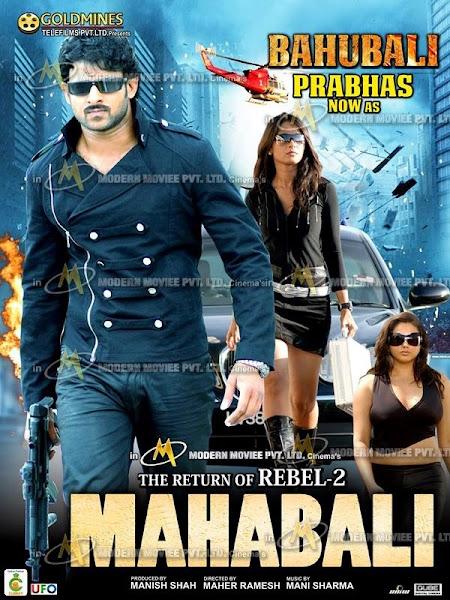 Poster of The Return Of Rebel 2 (Billa) 2017 Hindi Dubbed 720p HDRip Download