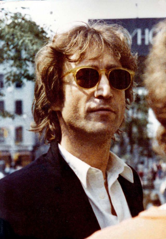 These Color Pictures Some Rare That Captured John Lennon On Streets In 1980 Several Were The Last Hours Of His Life