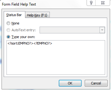 Sort data in xml reports