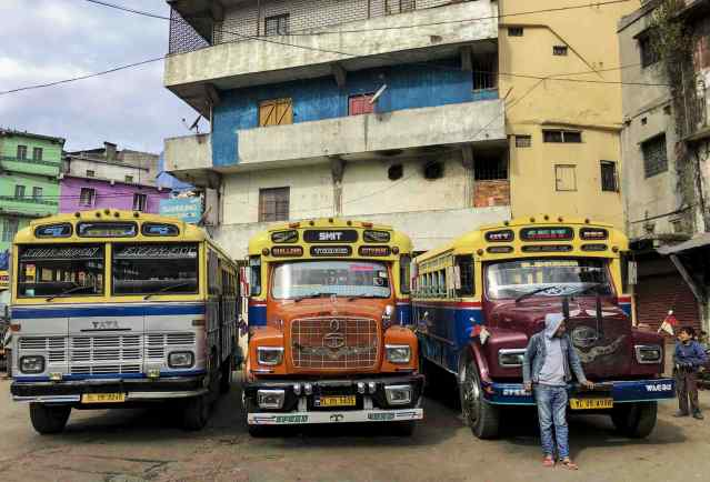 Road transport in Shillong