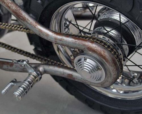 www.Tinuku.com Psychoengine studio build Honda GL 200 single-cylinder engine turns into Five Dragons 5-cylinder