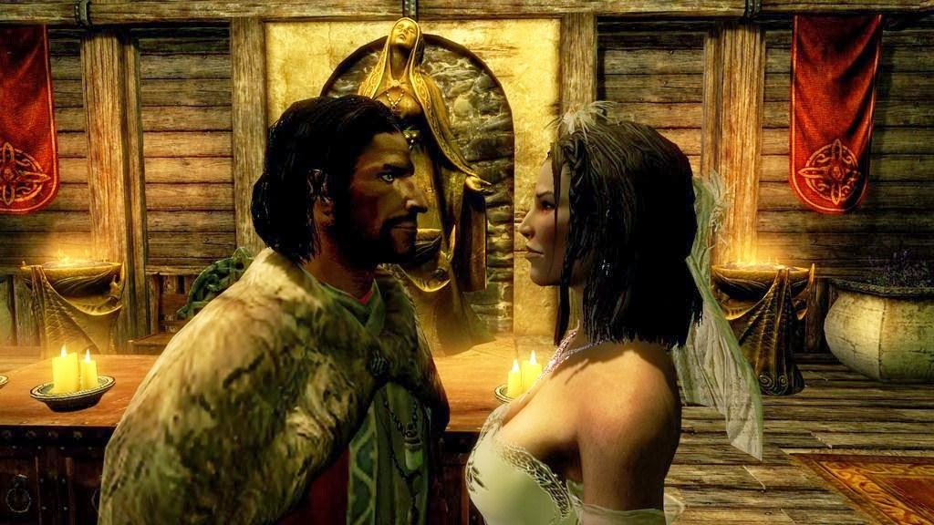 Skyrim wedding