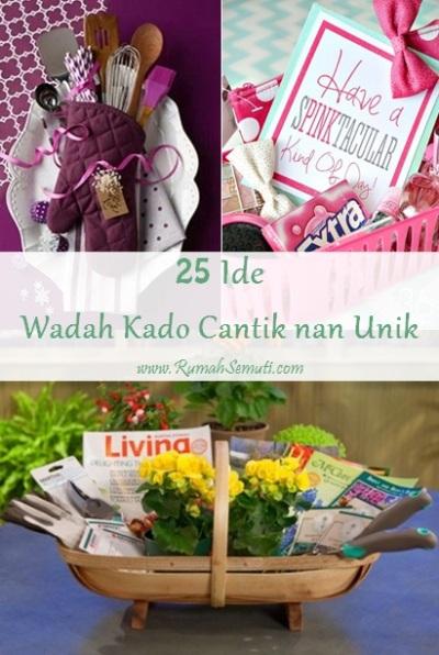 25 Ide Wadah Kado Cantik nan Unik