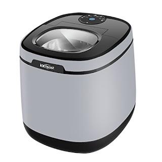 IceFeast Ice Maker - Mini Countertop Machine with Auto Shut Off
