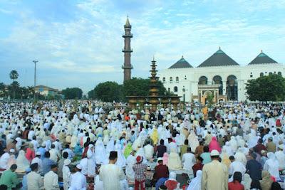 sholat eid di palembang
