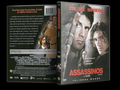 Capa DVD Assassinos