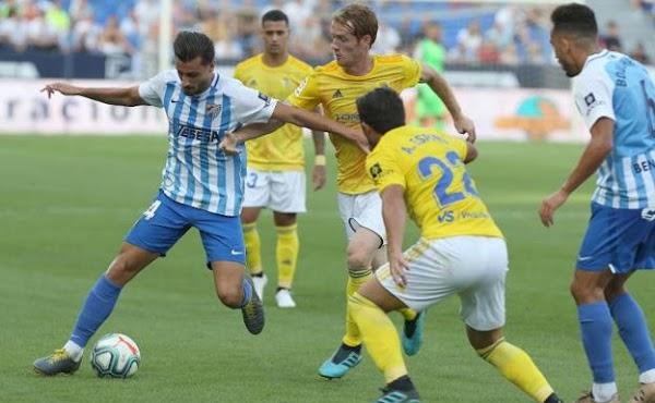 Málaga, el Eibar interesado en Luis Muñoz