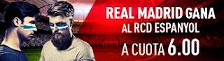 sportium Supercuota 6 Real Madrid gana Espanyol 1 octubre