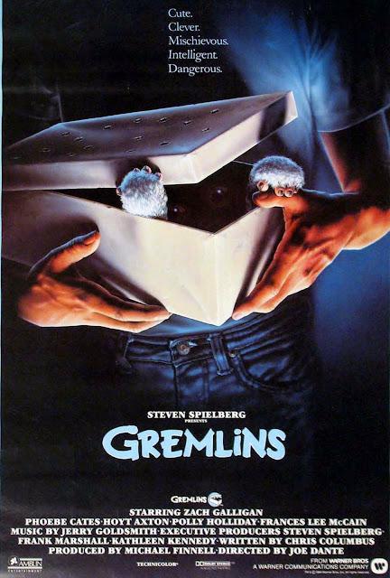 Póster original película Gremlins