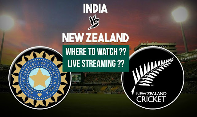 Where to watch, live streaming, India vs New Zealand 1st ODI 2017
