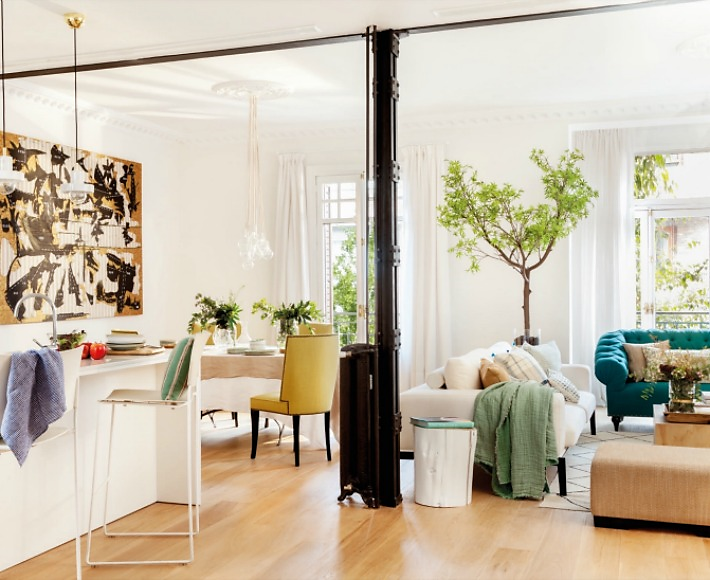 5 Trucos para modernizar una decoración clasica