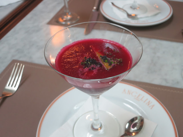 Beetroot & watermelon gazpacho