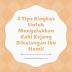 5 Tips Ringkas Untuk Mengelakkan Kaki Kejang Dikalangan Ibu Hamil