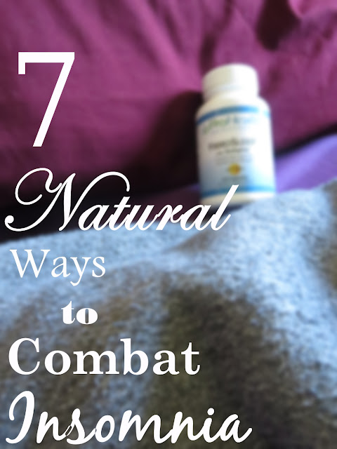 Mr. Sandman passing you by at night? Here are 7 #natural ways to combat #insomnia & my opinion on ProHealth's FibroSleep with #Sedapine supplement!