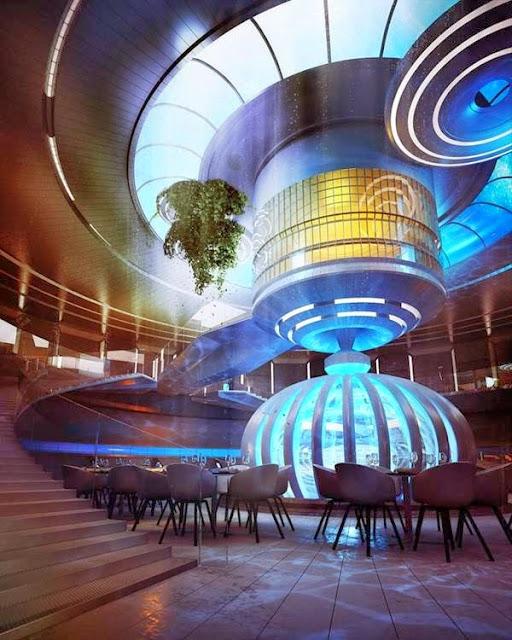 A Hotel Under Water In Dubai 3