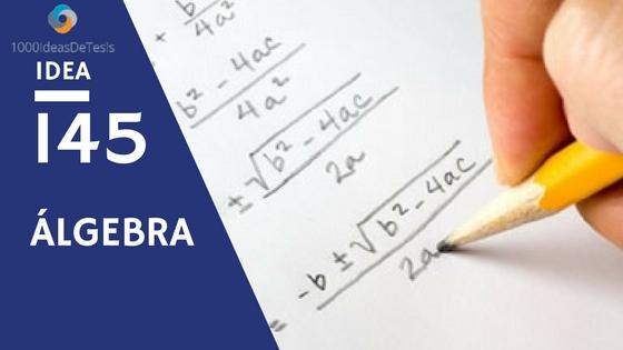 Idea 145 de 1000 ideas de tesis: ¿Cómo se presenta la transición del pensamiento aritmético al pensamiento algebraico en los libros de texto de nivel primaria y secundaria?