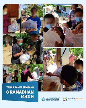 Penyaluran Sembako Ramadhan 1442H Tahap 2