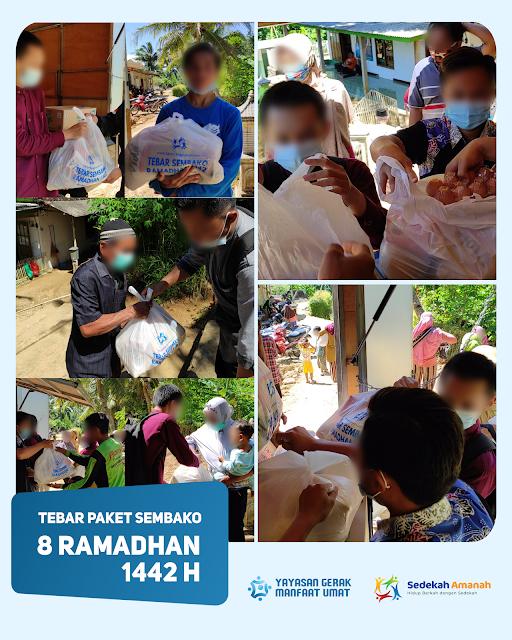 Tebar Sembako Ramadhan 1442H - Sedekah Amanah