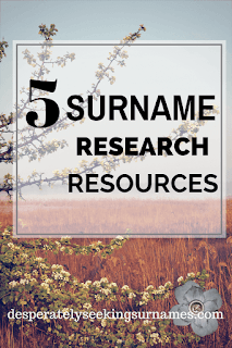 5 Online Surname Origin Research Resources for your family history research