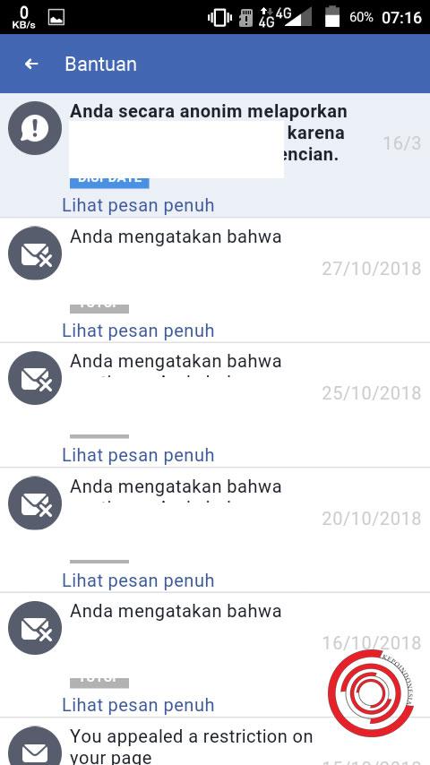 2 Cara Melihat Pesan Masuk Dukungan Facebook Di Fb Lite Dan Facebook Biasa Kepoindonesia