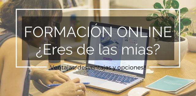 formación online, ventajas, desventajas y recomendaciones