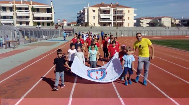 """Ντεμπούτο για τους μικρούς του Αθλητικού Συλλόγου Νεμέας στους """"Ναυπλιακούς Αγώνες"""""""