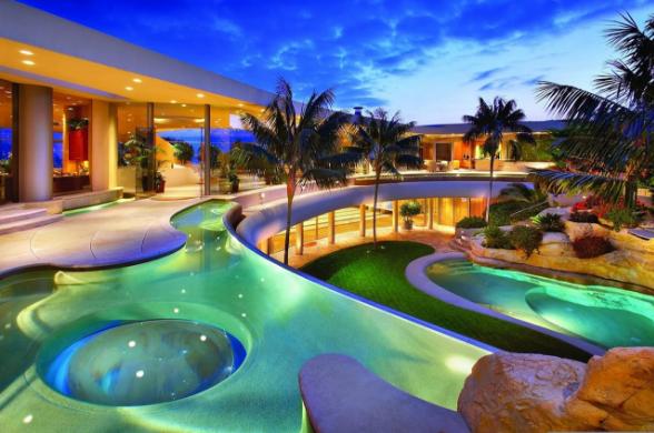Desain Kolam Renang Untuk Rumah Mewah