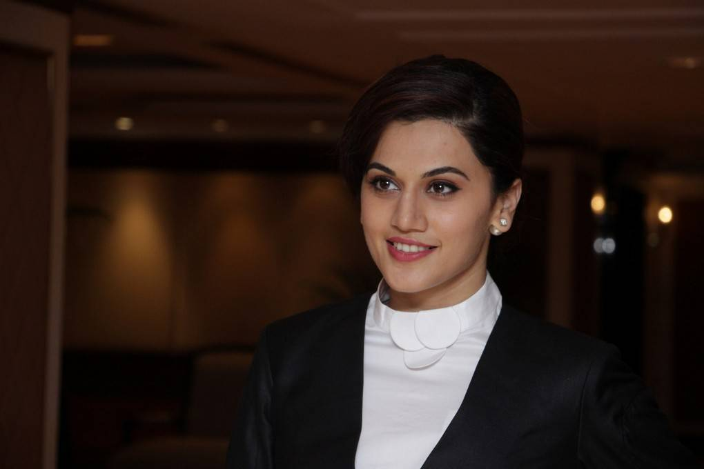 Model Taapsee Stills At International Women's Day Event