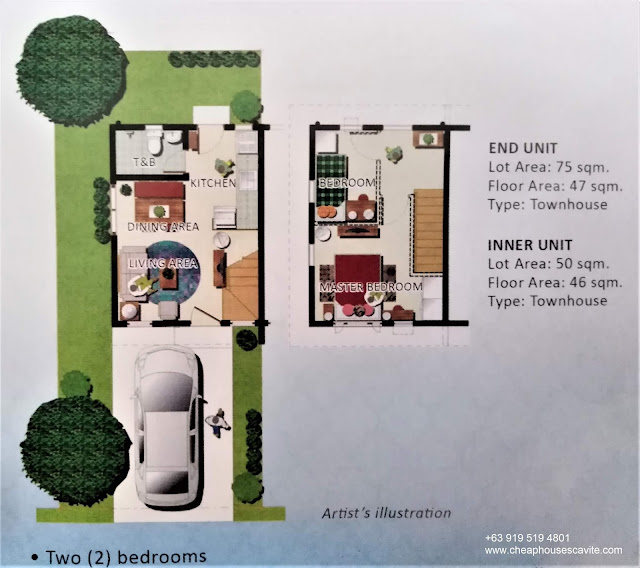 One Cenon Place Floor Plan