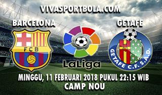 Prediksi Barcelona vs Getafe 11 Februari 2018