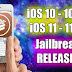 Cydia:Tweaks for iOS 10.3.3 and iOS 11 – iOS 11.1.2 (15 January 2018)